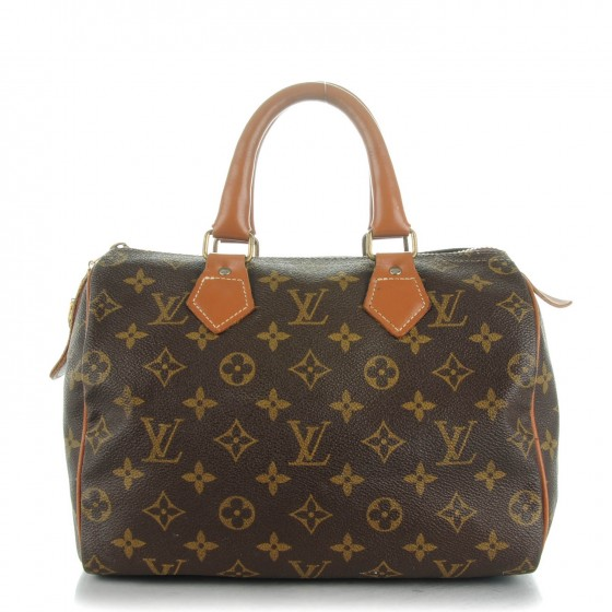 "Kerri: ""I didn't even know about  Louis Vuitton  until 1989.  That was two years after I graduated from high school. It was in college where I saw a very stylish girl sporting a Louis Vuitton bag. I told my mom about it. For my next birthday she bought me the exact one and I still have it to this day.  It was a  Louis Vuitton Speedy 25  from  The French Collection,  which is no longer made."""