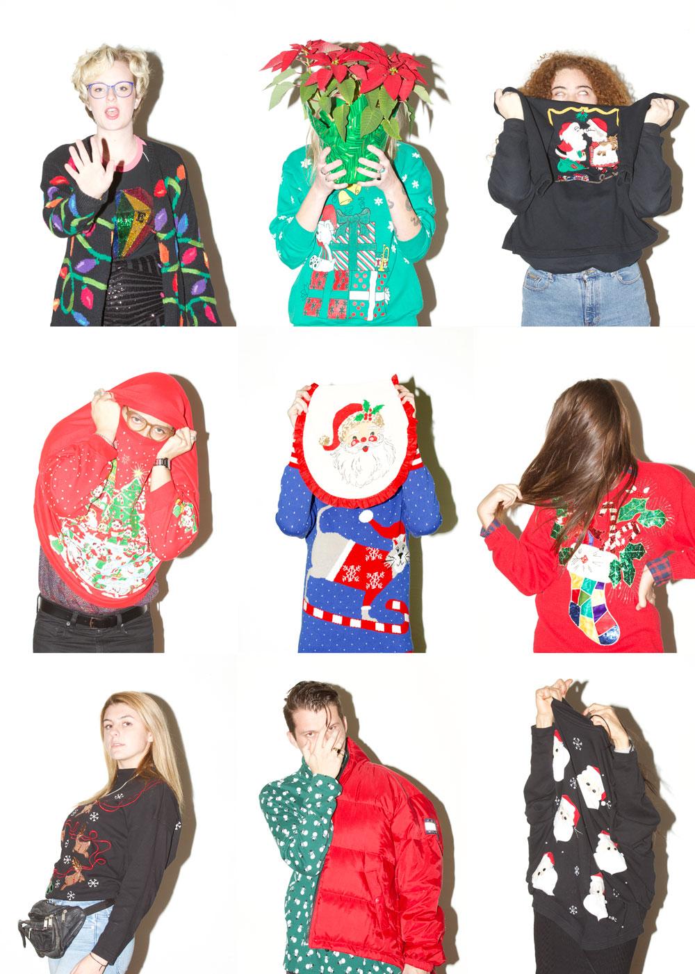 Smells like Christmas Spirit.  Caralyn Clark, Amanda Mosher, Keana Frierson, Mikey Massas, Will Bassler, Kaitlyn Higby, Hannah Morel, Jon Jackson, and Flower Ta.