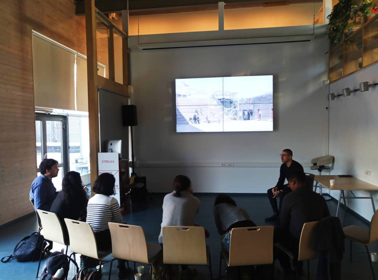 The Digital Earth- Strelka (The New Normal) Workshop, Moscow, Russia - organized by   Nicolay Boyadjiev   Participants:  Halima Haruna,    Tekla Aslanishvili   , Khyati Saraf, Ishita Sharma, Umber Majeed