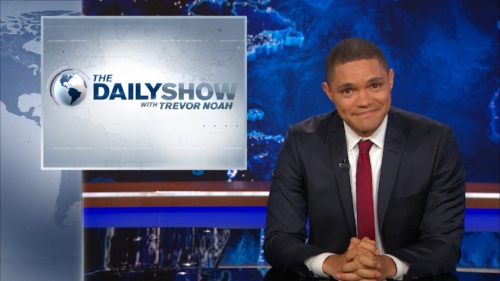 The Daily Show with Trevor Noah (Comedy Central) -