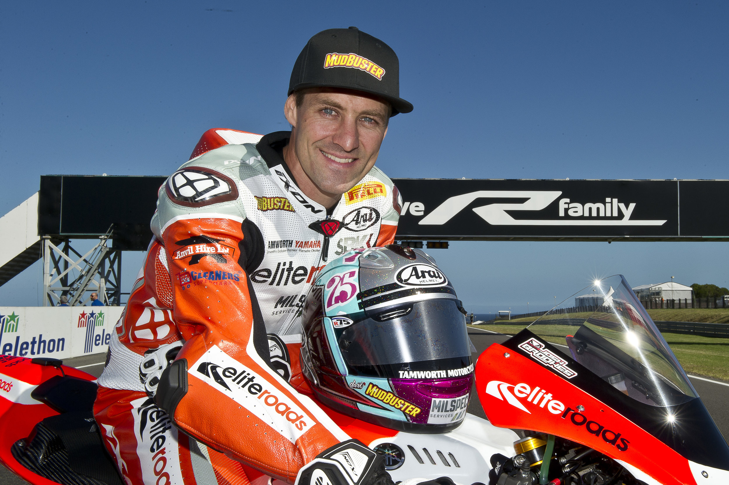 Josh Brookes at Phillip Island with the wildcard Yamaha he'll run this we (3)