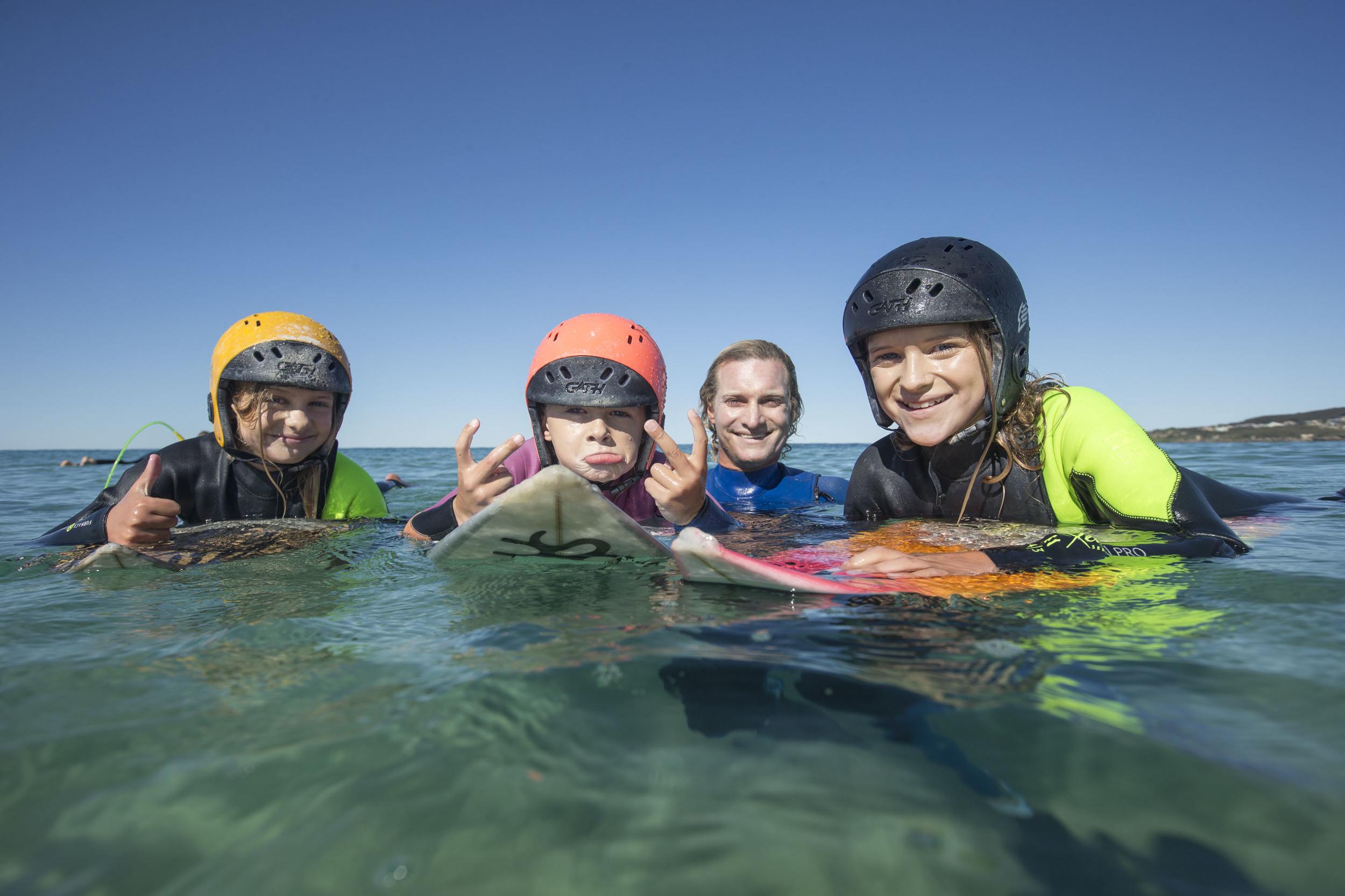 Sockie Norris, Biggie Norris, Justin Norris and Sabre Norris - Newcastle - owenphoto.com.au