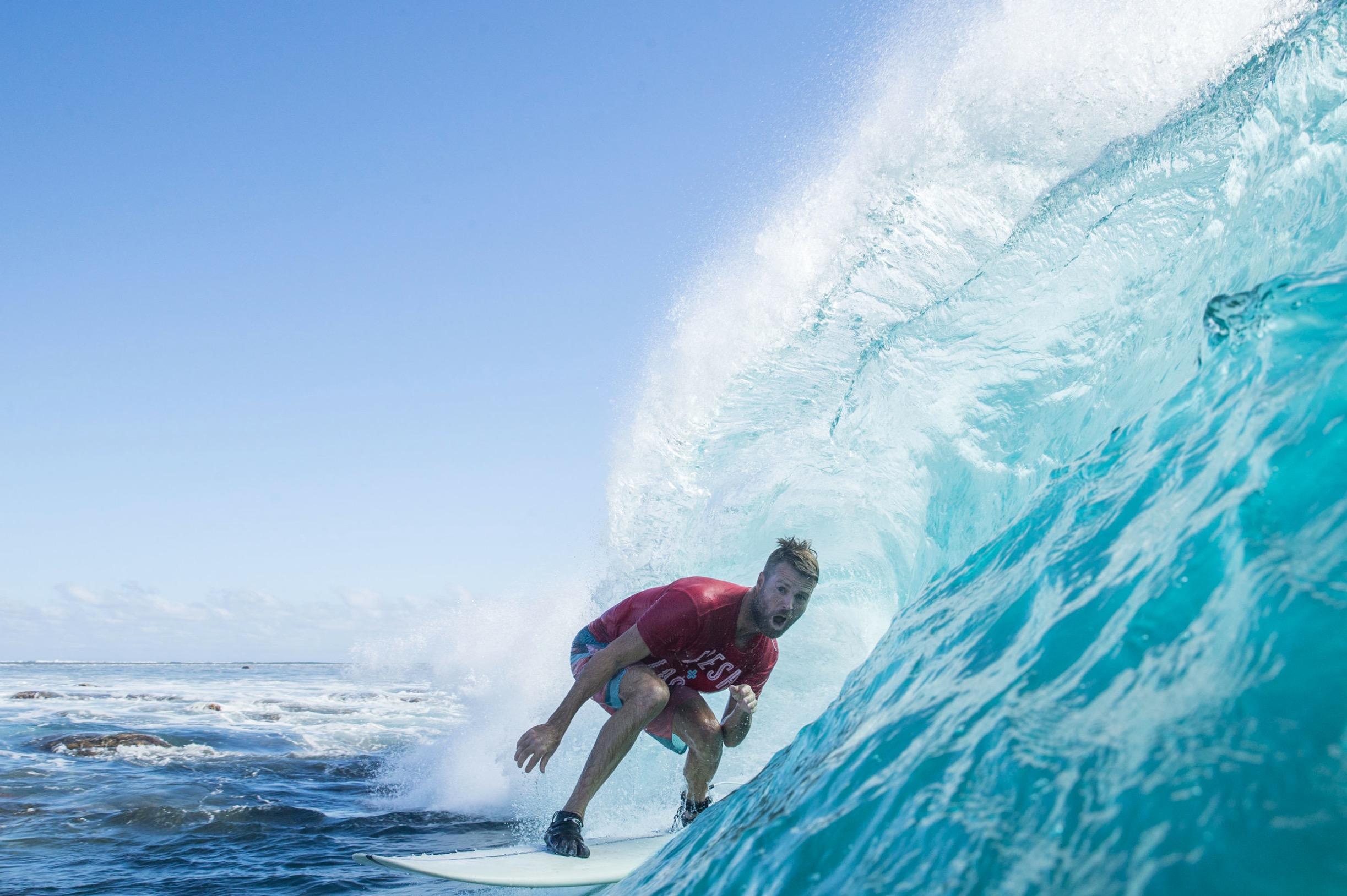 Pete Evans resturant Fiji surfing food MKR