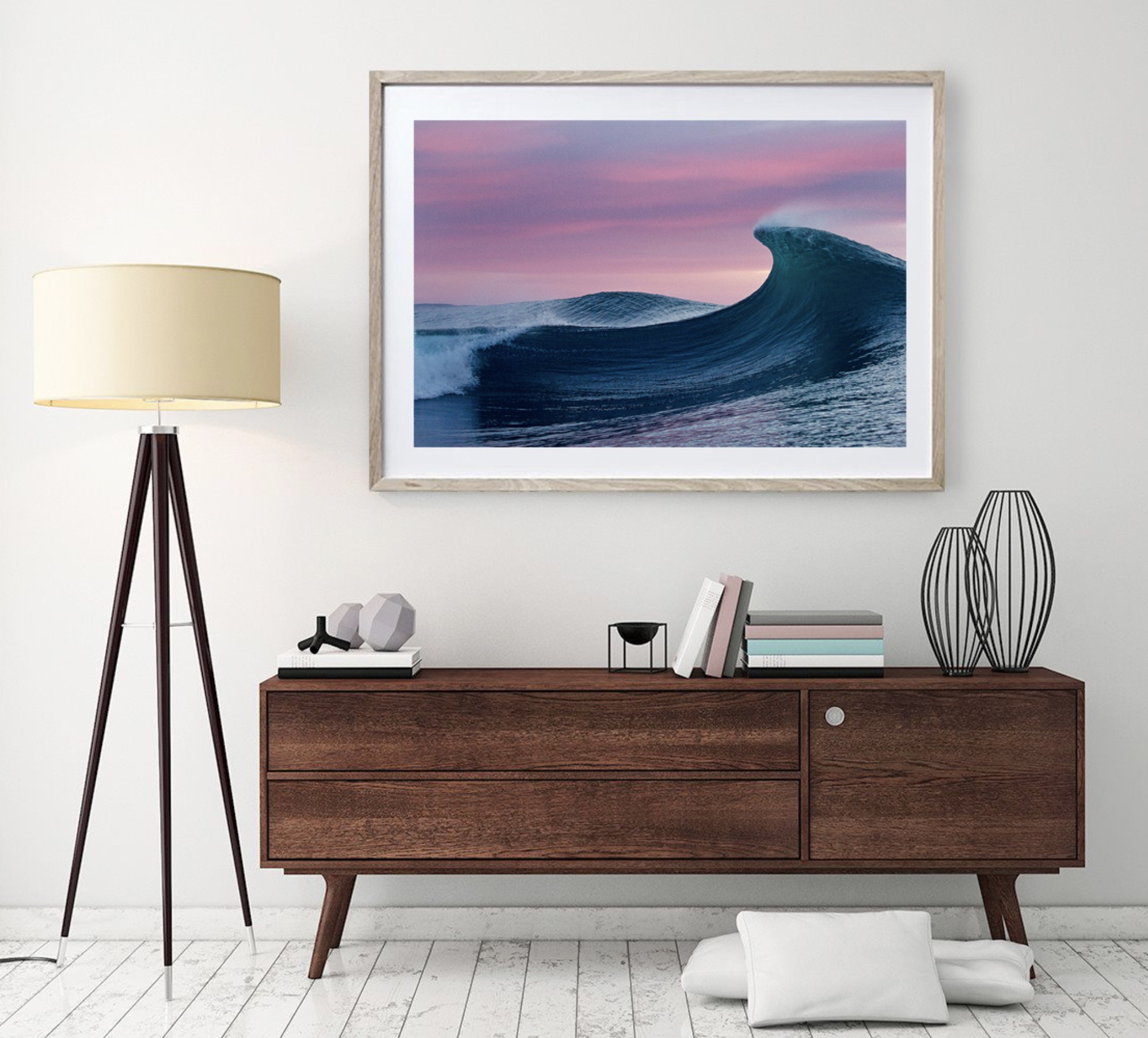 wave photography art ocean interior design