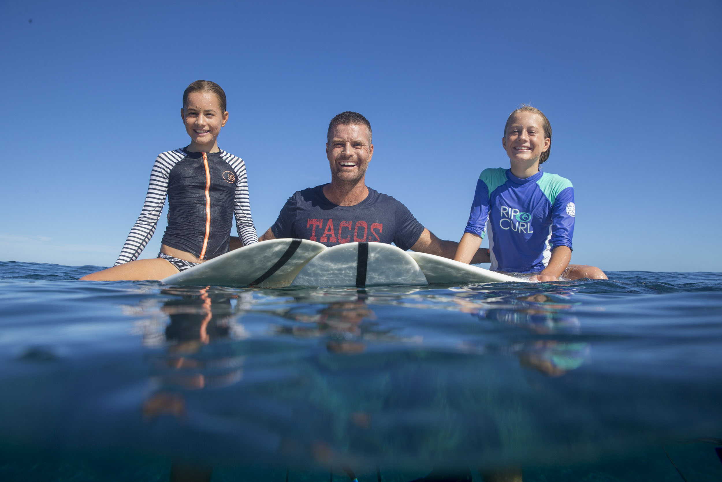 Pete Evans and his amazing groms!