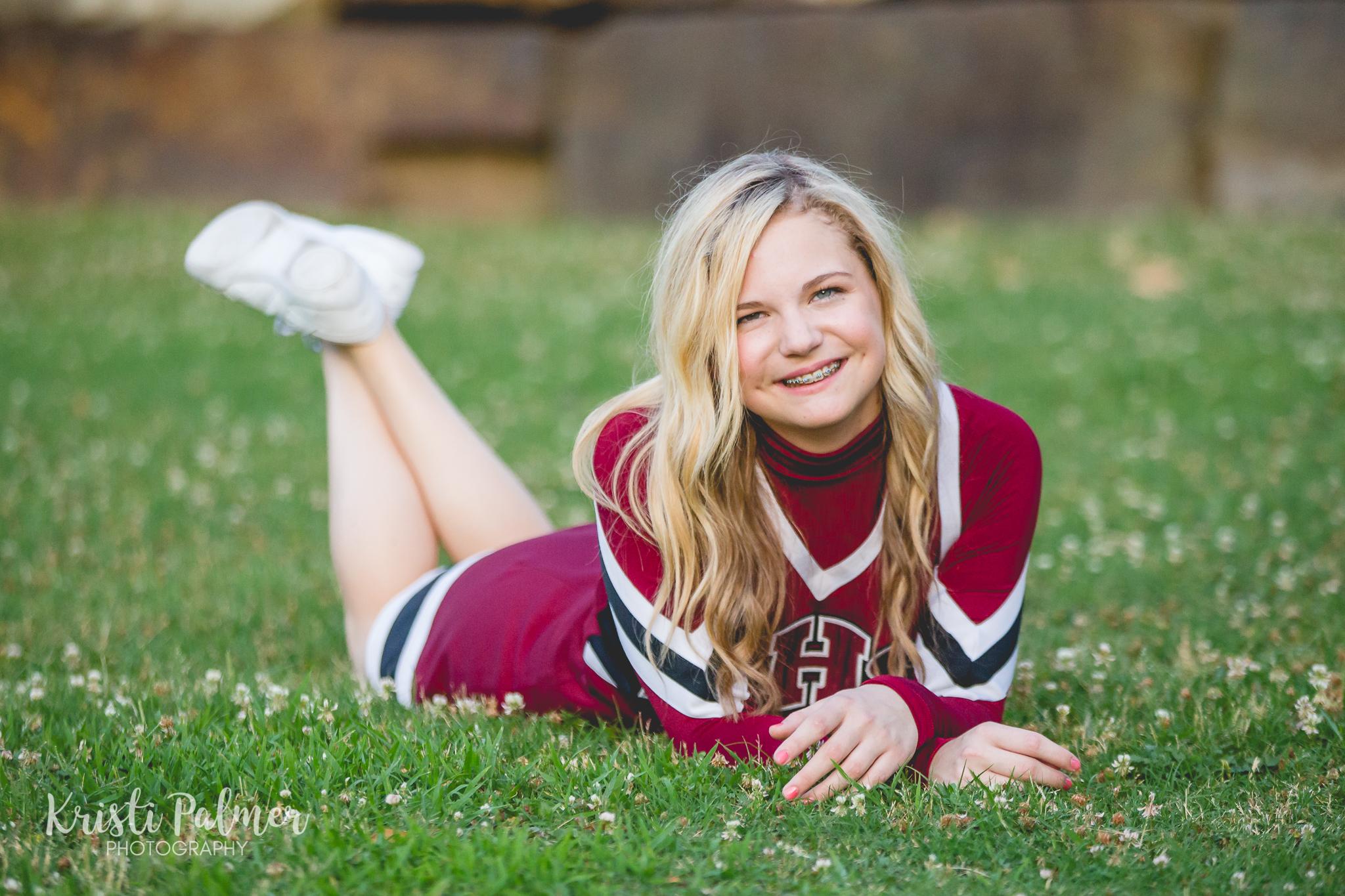 teen girl cheerleader portrait tulsa oklahoma