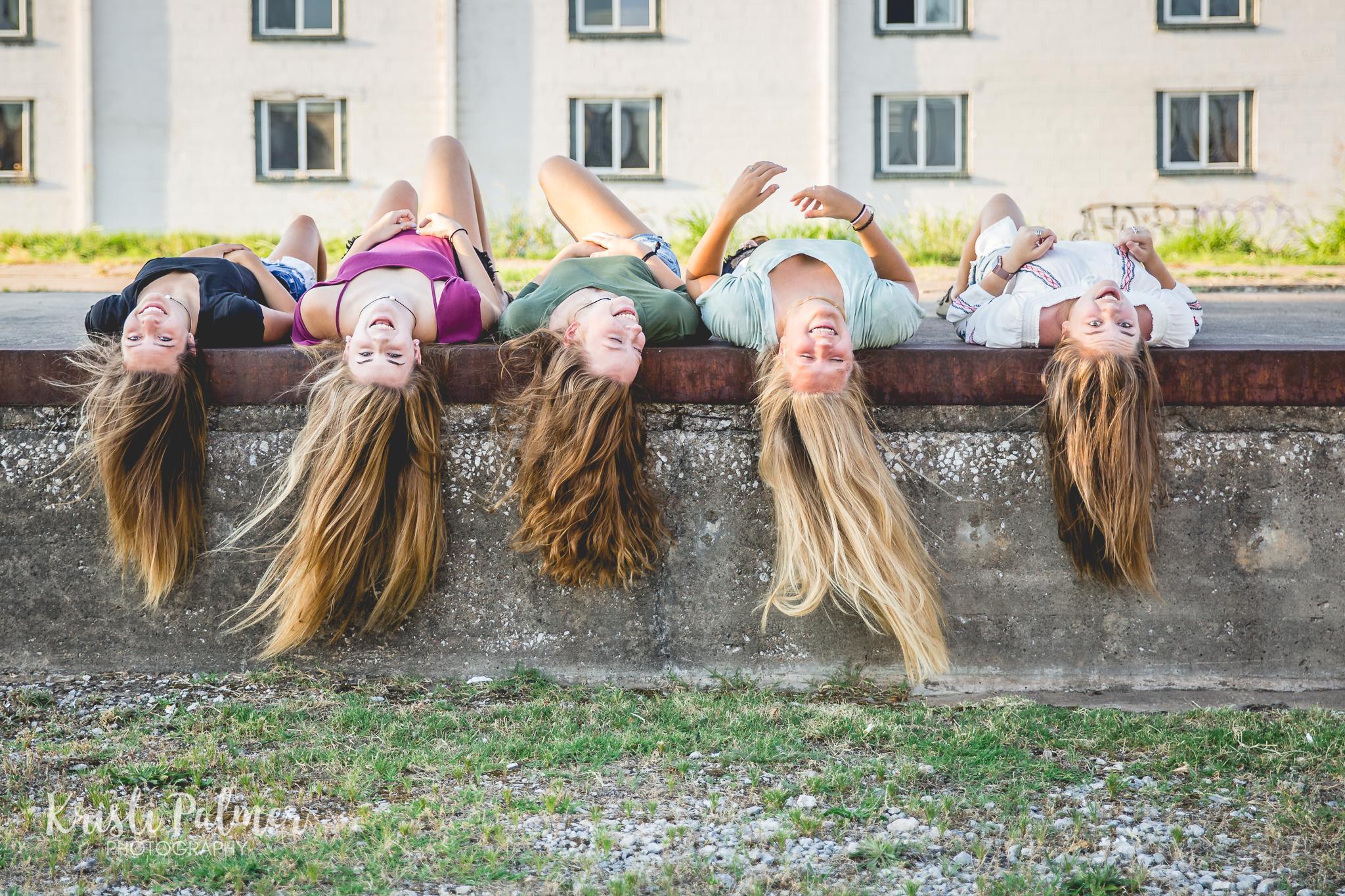 teen girl friends photo session downtown tulsa oklahoma