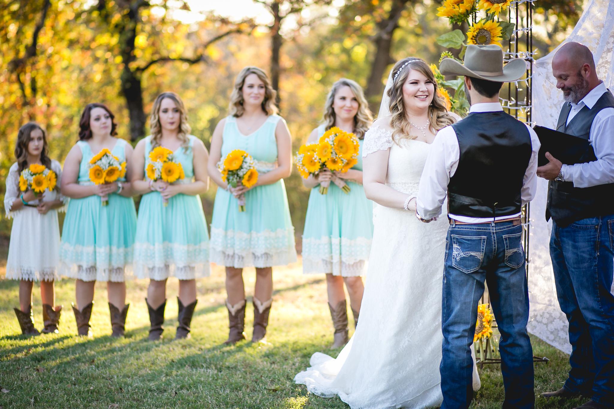 wedding ceremony wedding party
