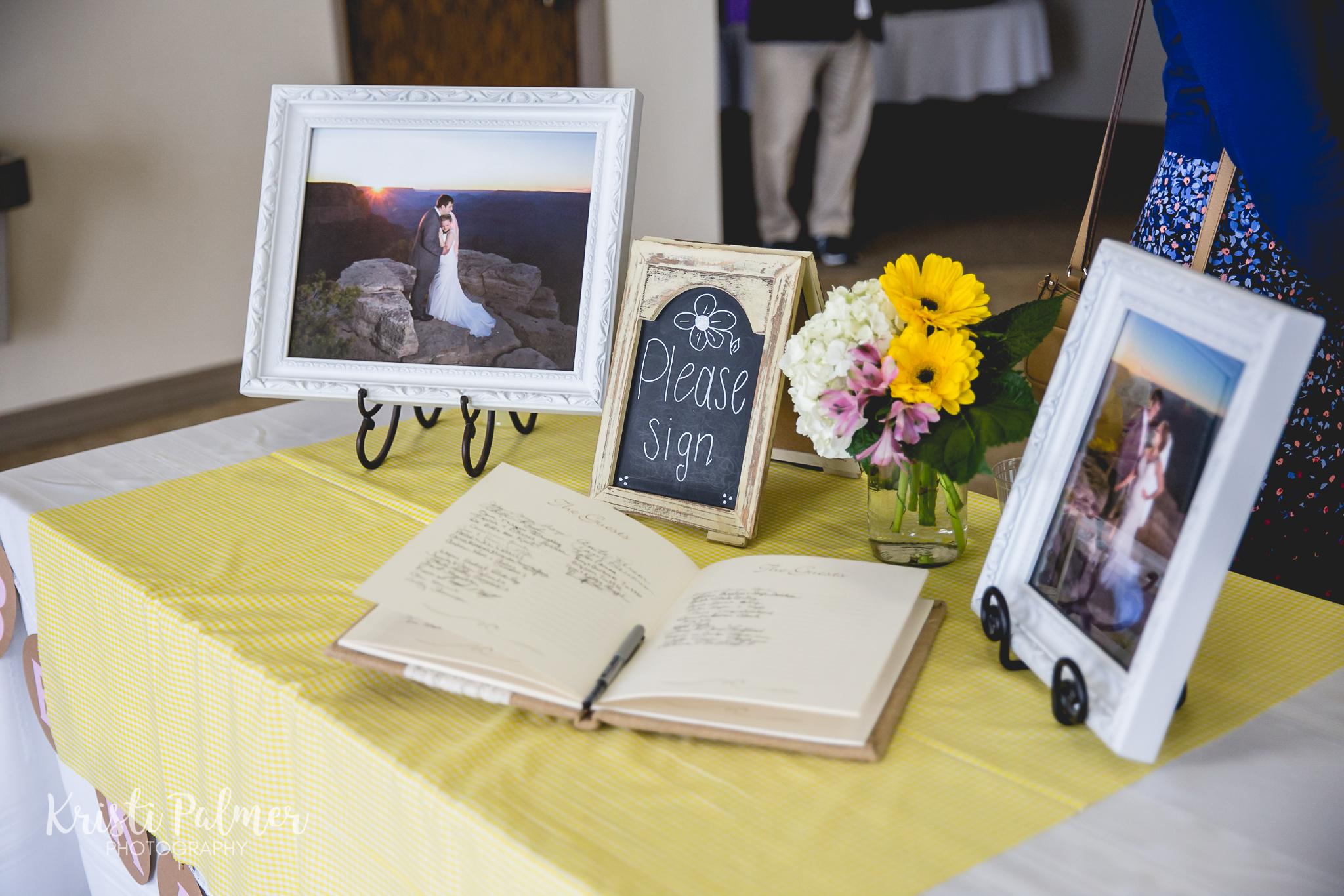 wedding reception guest book tulsa