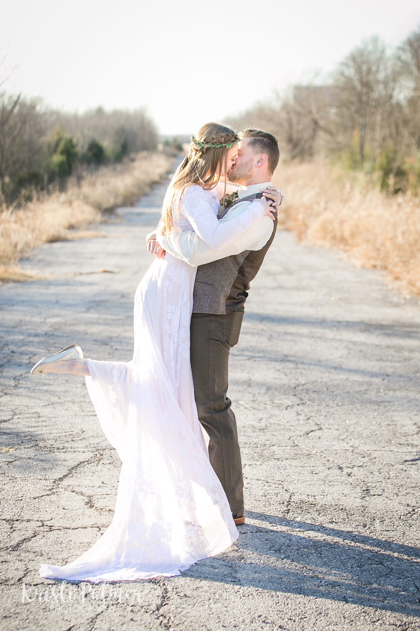 bridal portrait photography tulsa