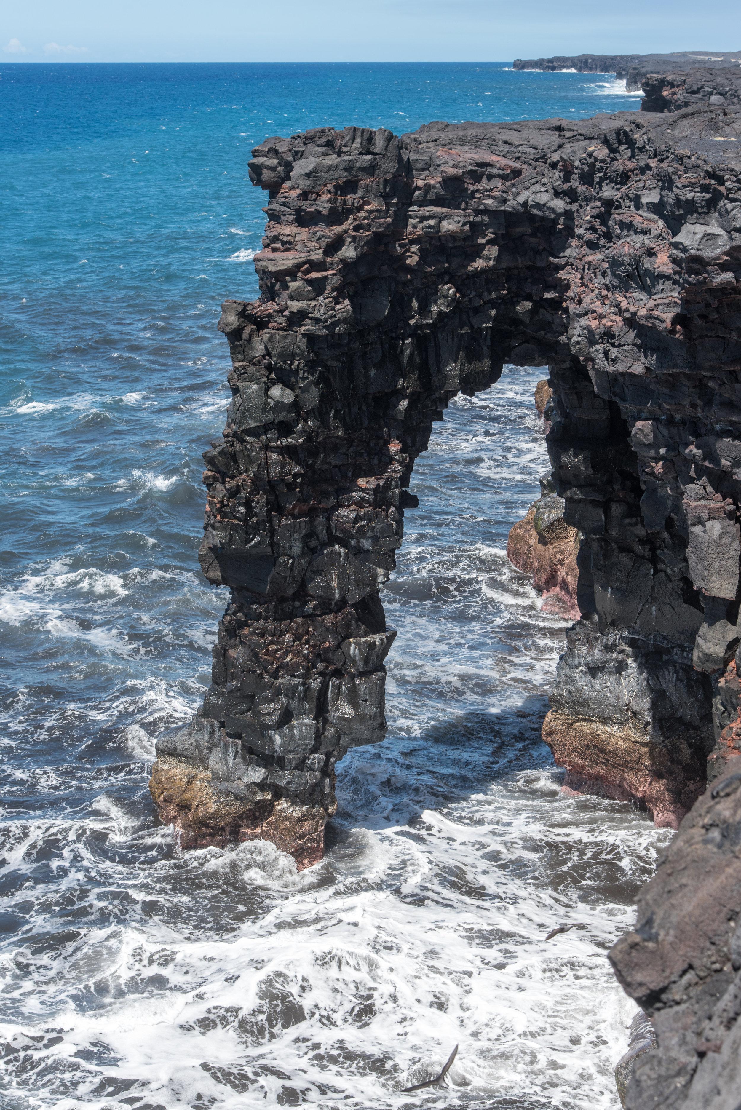 Hōlei Sea Arch.