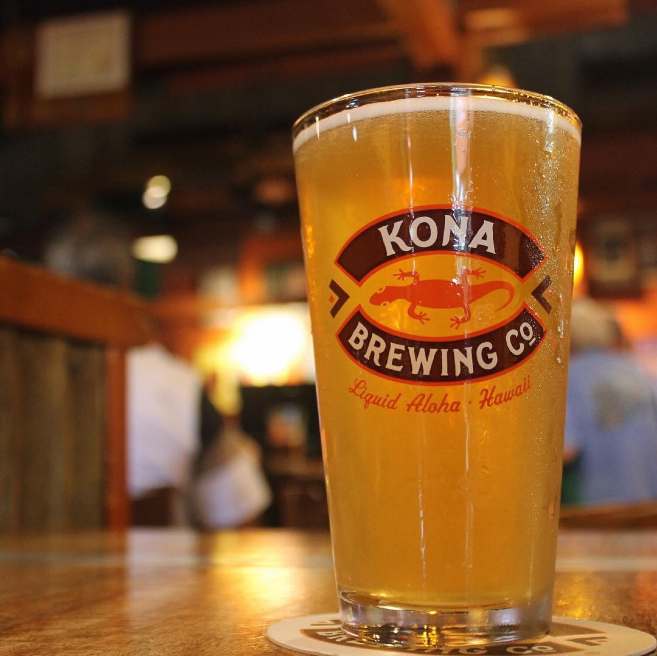 Ice cold pint at Kona Brew. Courtesy photo.