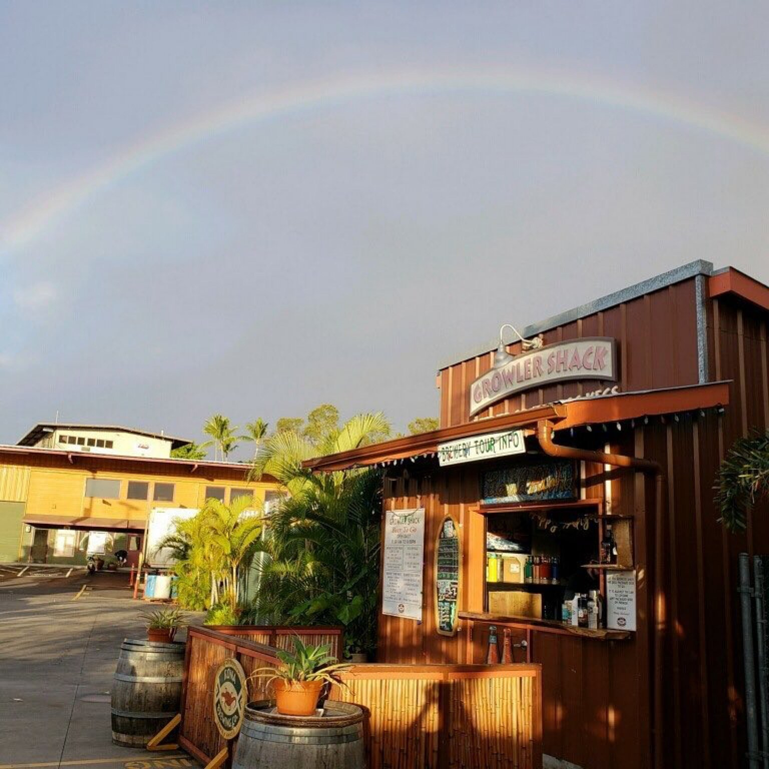 Kona Brew's Growler Shack. Courtesy photo.