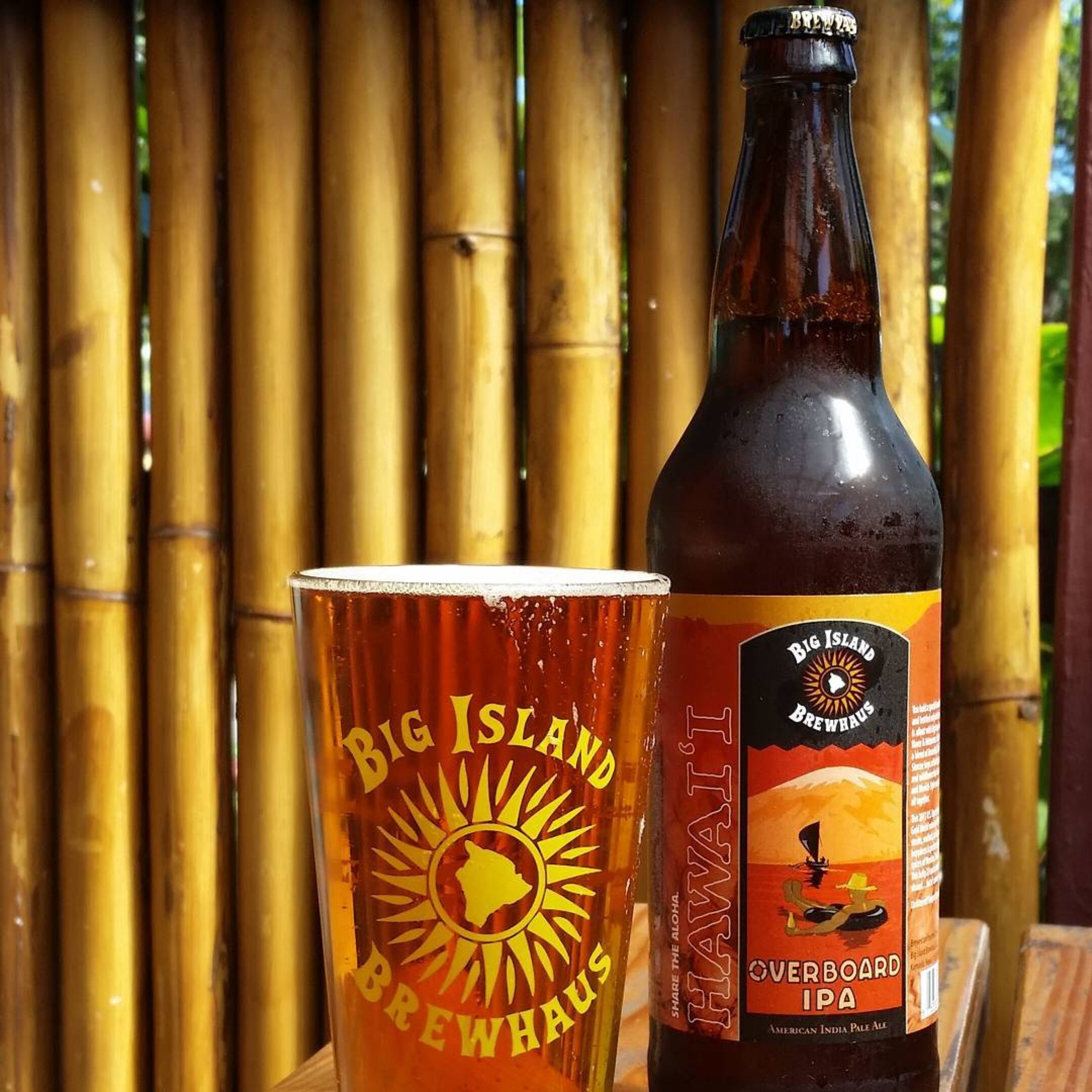 Big Island Brewhaus flagship beer, Overboard IPA. Courtesy photo.