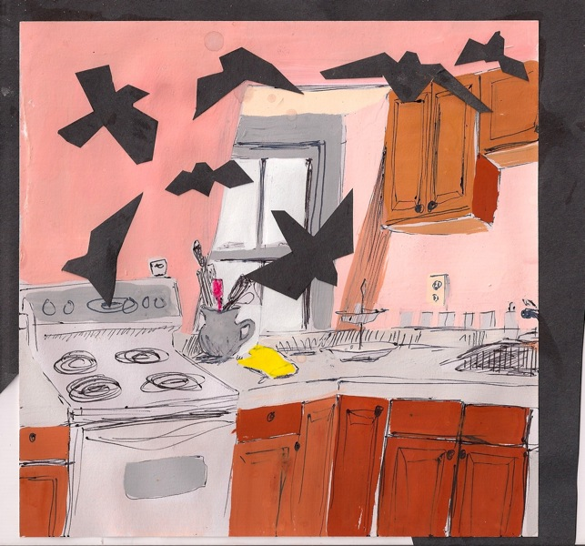 Perea-Kane, Birds in the Kitchen, 2014