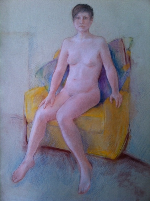 Dream Image  by Lou Kohl Morgan, another artist I met modeling I am infinitely better for having known.