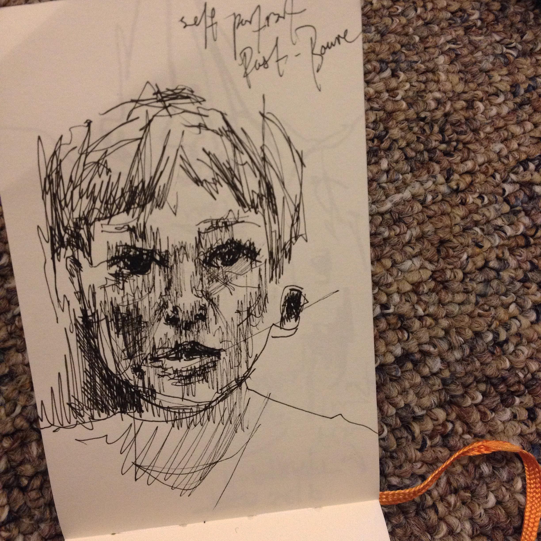 self portrait post-Bowie