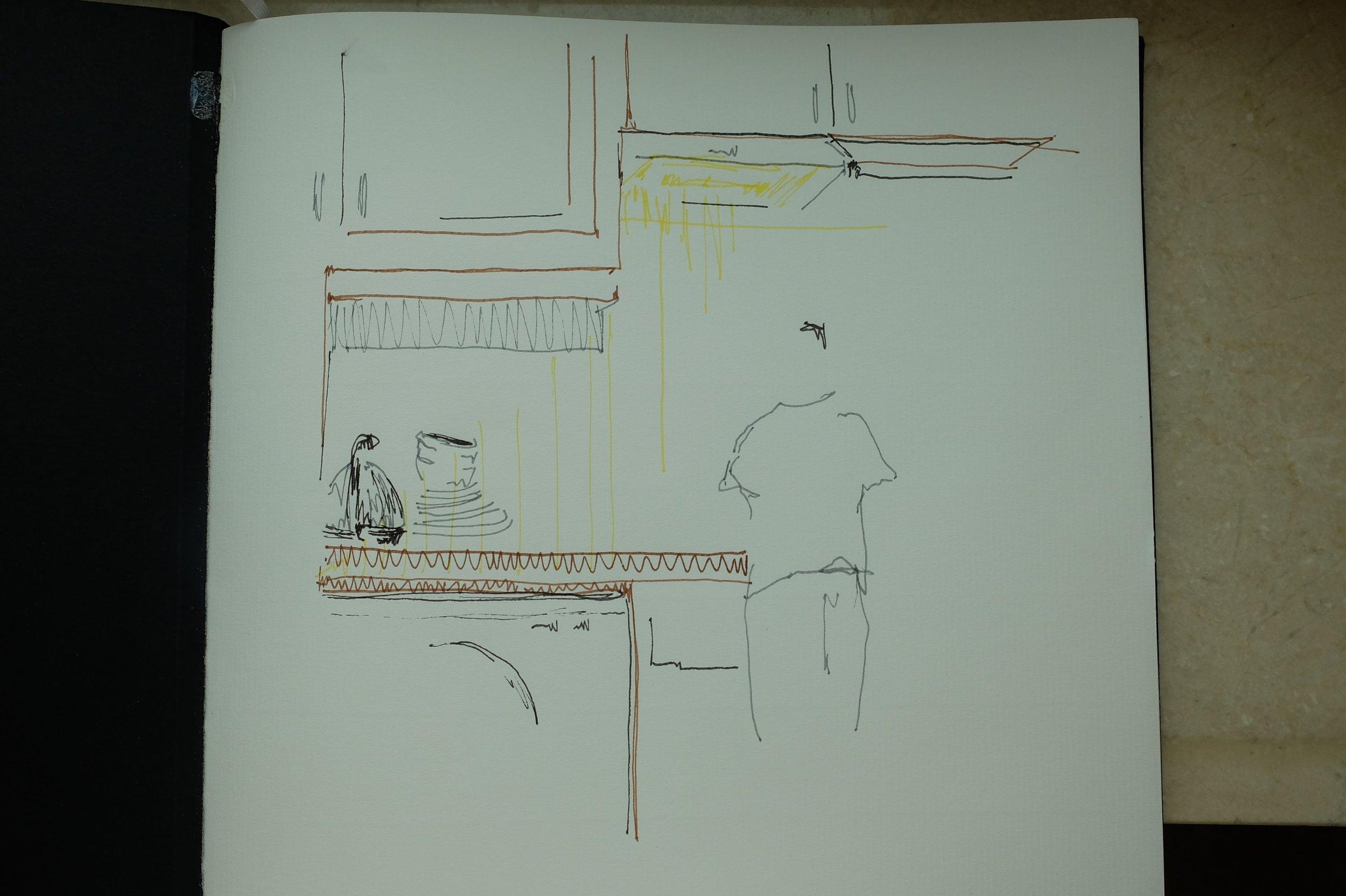 Bryn in kitchen