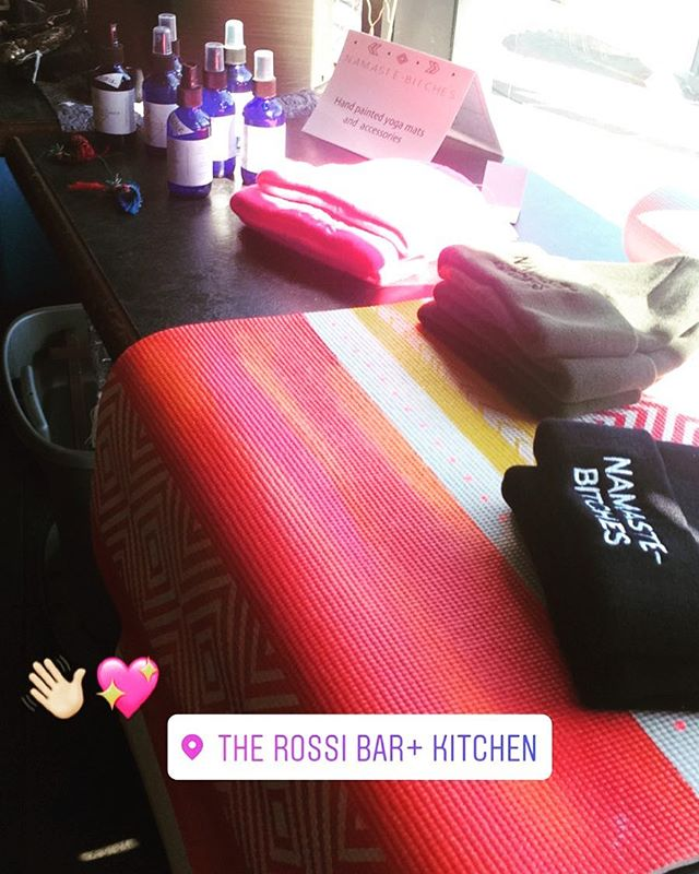 Thanks to all those who stopped by and supported the brunch pop up market at @therossibarandkitchen and if you didn't make it you should def still check them out for brunch! 🍾🍳🍞