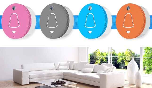Smart Doorbell - Variety of Colors - cleverdog Home automation products Smart Door Bell กันน้ำ กริ่งเรียกอัจฉริยะ อินเตอร์คอมบนมือถือ