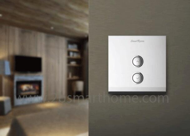 Wulian Smart Dimmer Switch (one gang,L) - สวิทช์เปิดปิดไฟควบคุมผ่านโทรศัพท์มือถือ จาก Wulian Thailand - Smart Home Automation บ้านอัจฉริยะ Smart Switch