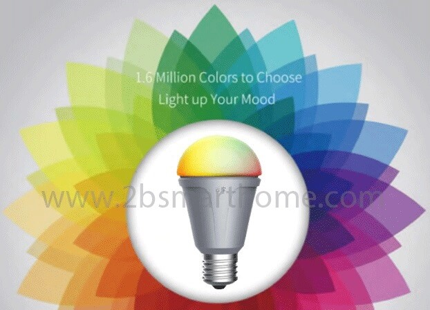 Wulian Smart Rainbow Bulb - สวิทช์เปิดปิดไฟ 2 ปุ่มควบคุมผ่านมือถือ จาก Wulian Thailand - Smart Home Automation บ้านอัจฉริยะ Smart Switch