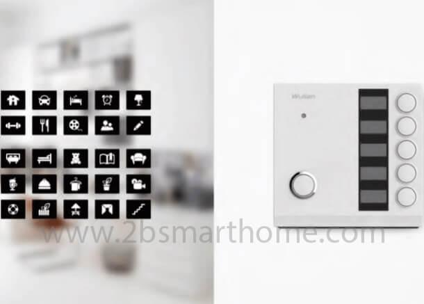 Smart Scene Switch - สวิทช์รีโมทควบคุมการทำงานของซีนและอุปกรณ์สมาร์ทโฮมต่างๆ Wulian Thailand - Smart Home Automation บ้านอัจฉริยะ