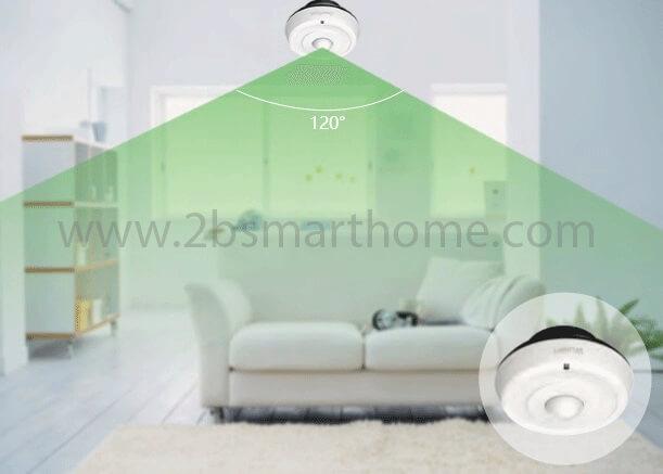 Smart PIR Motion Detector - อุปกรณ์ตรวจับความเคลื่อนไหว Wulian Thailand - Smart Home Automation บ้านอัจฉริยะ
