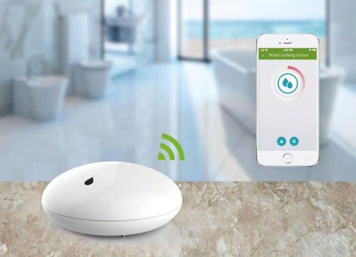 Smart Home Automation System บ้านอัจฉริยะ - ระบบจัดการน้ำอัจฉริยะ - Smart Water Leakage Sensor  - Wulian Thailand
