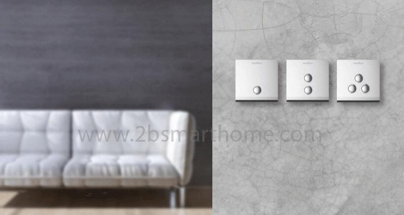 Wulian Smart Switch(L, N) - สวิทช์ไฟเปิดปิดผ่านโทรศัพท์มือถือ จาก Wulian Thailand - Smart Home Automation บ้านอัจฉริยะ Smart Switch