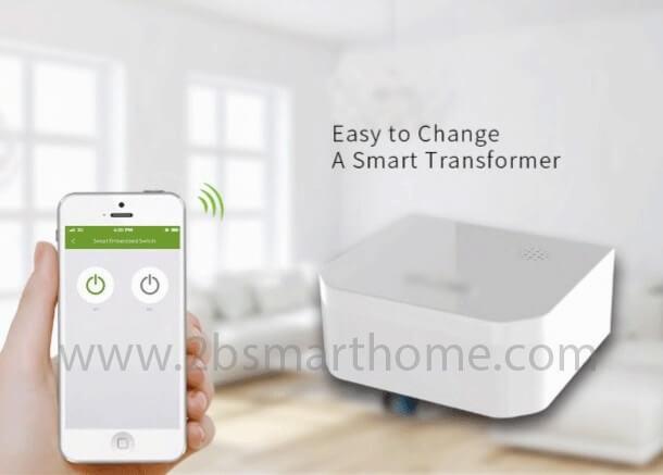 Smart Embedded Switch(Two-Gang) - สวิทช์ควบคุมระบบไฟอัตโนมัติแบบฝัง Thailand - Smart Home Automation บ้านอัจฉริยะ Smart Switch