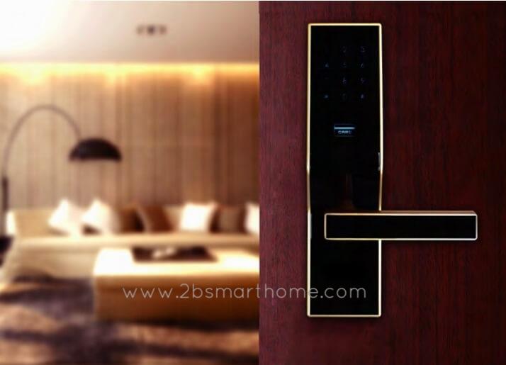 กลอนดิจิตอล - Smart Lock (card&password) Wulian Thailand - Smart Home Automation บ้านอัจฉริยะ
