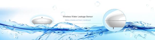 Smart Home Automation System - ระบบบ้านอัจฉริยะ -Water Leakage Sensor เซ็นเซอร์ป้องกันน้ำรั่วซึม  - Wulian Thailand
