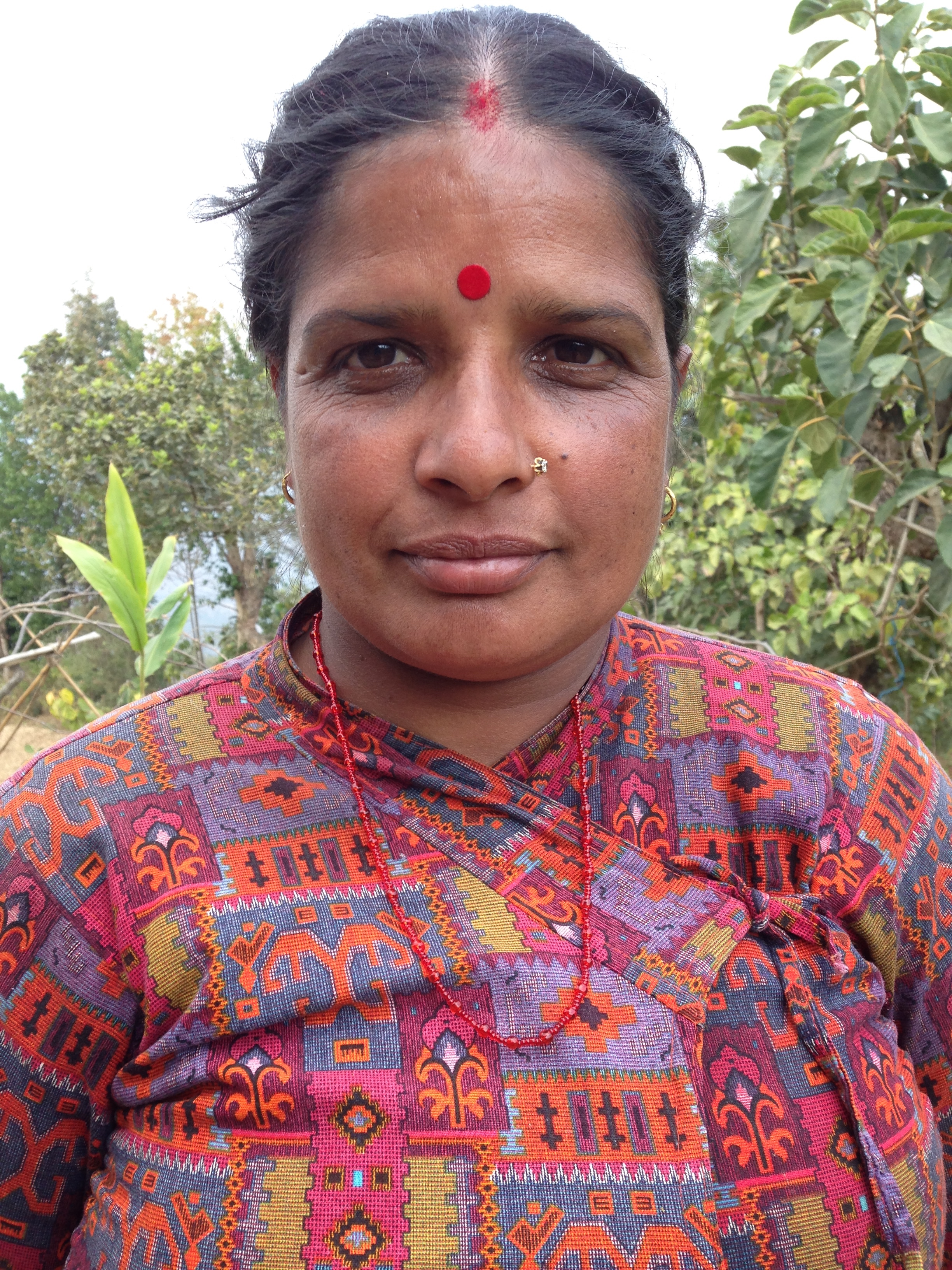 Gita Bhurtel,Nursery Assistant - Gita is from Vedabaari, Namobuddha-3. She has been working with Everything Organic since it's inception in 2010.
