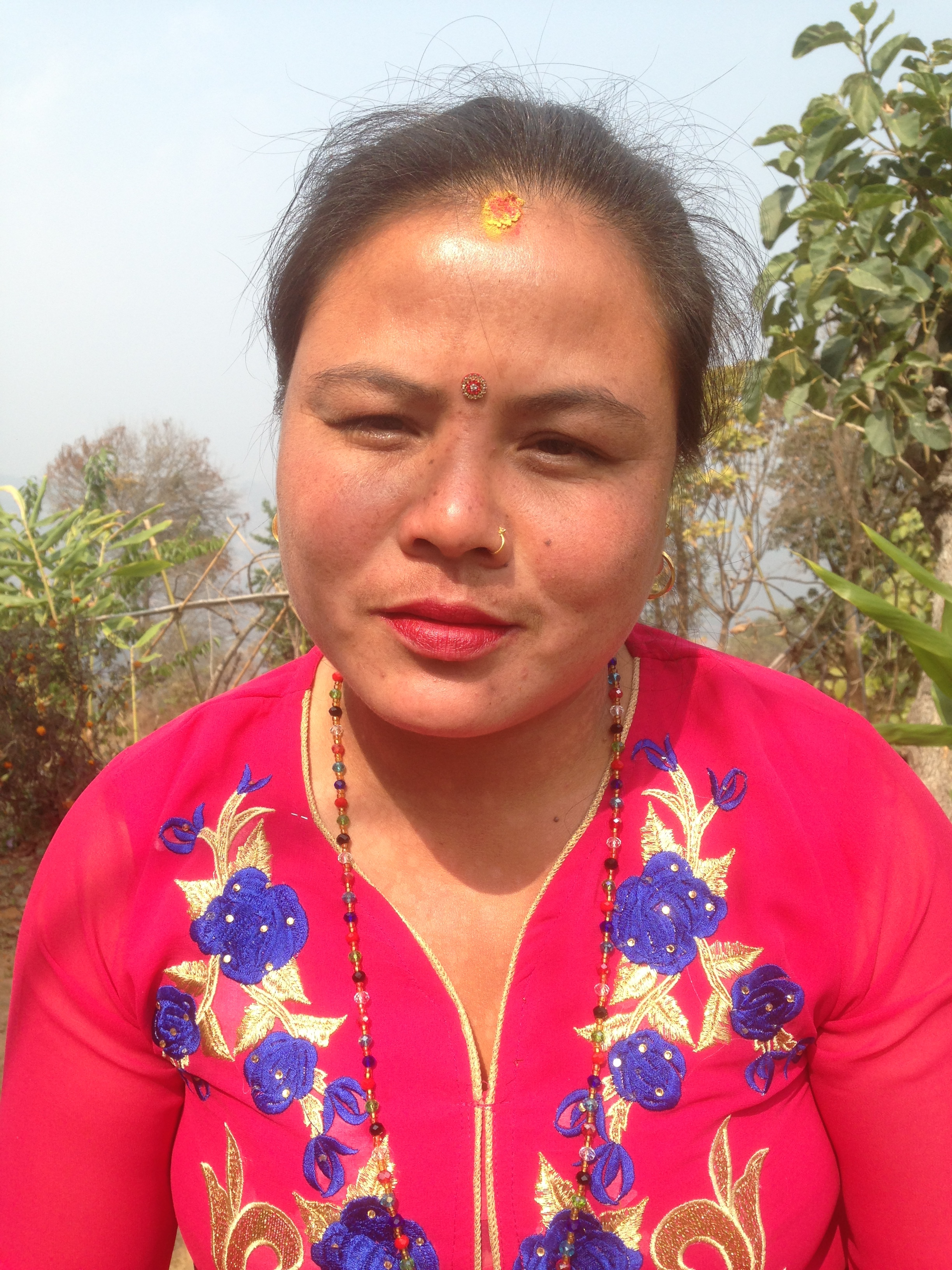 Ashmita Tamang,Plant Propagation Technician - Ashmita is from Arubhot, Dhulikhel-11. She has been working for Everything Organic since 2012.