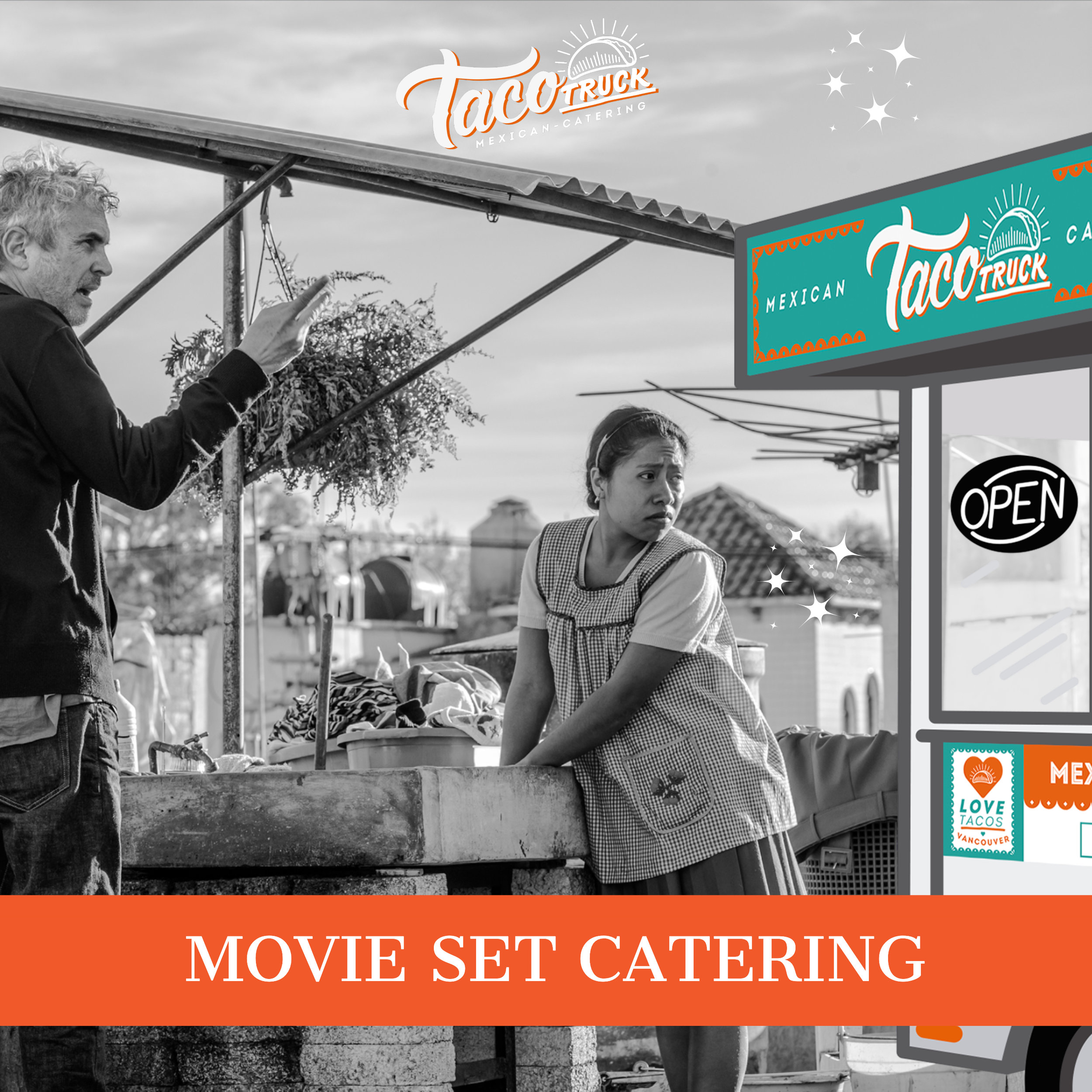 movie set catering
