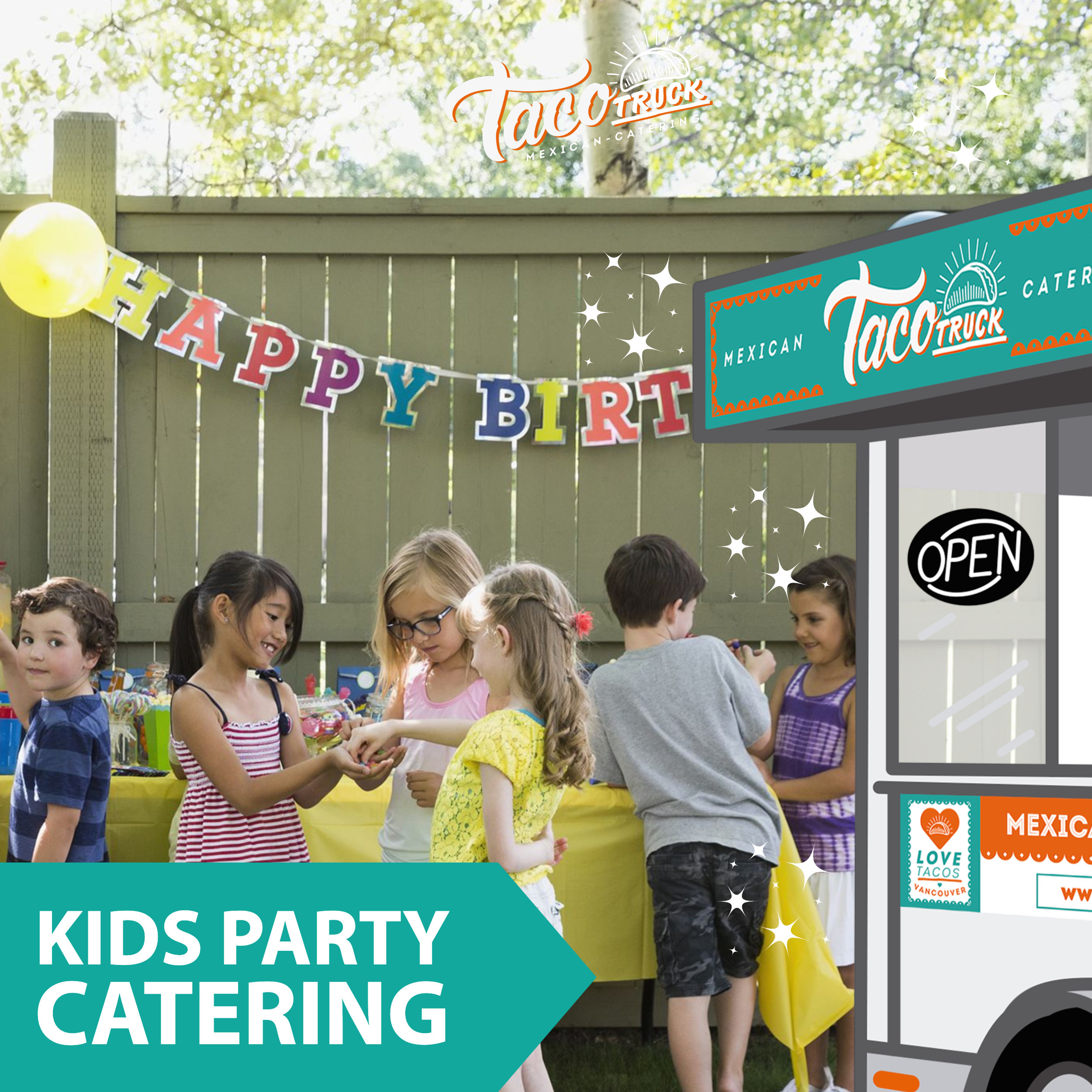 kids party catering