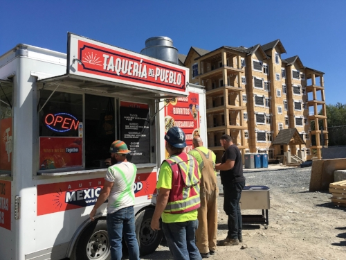 Construction Site Catering