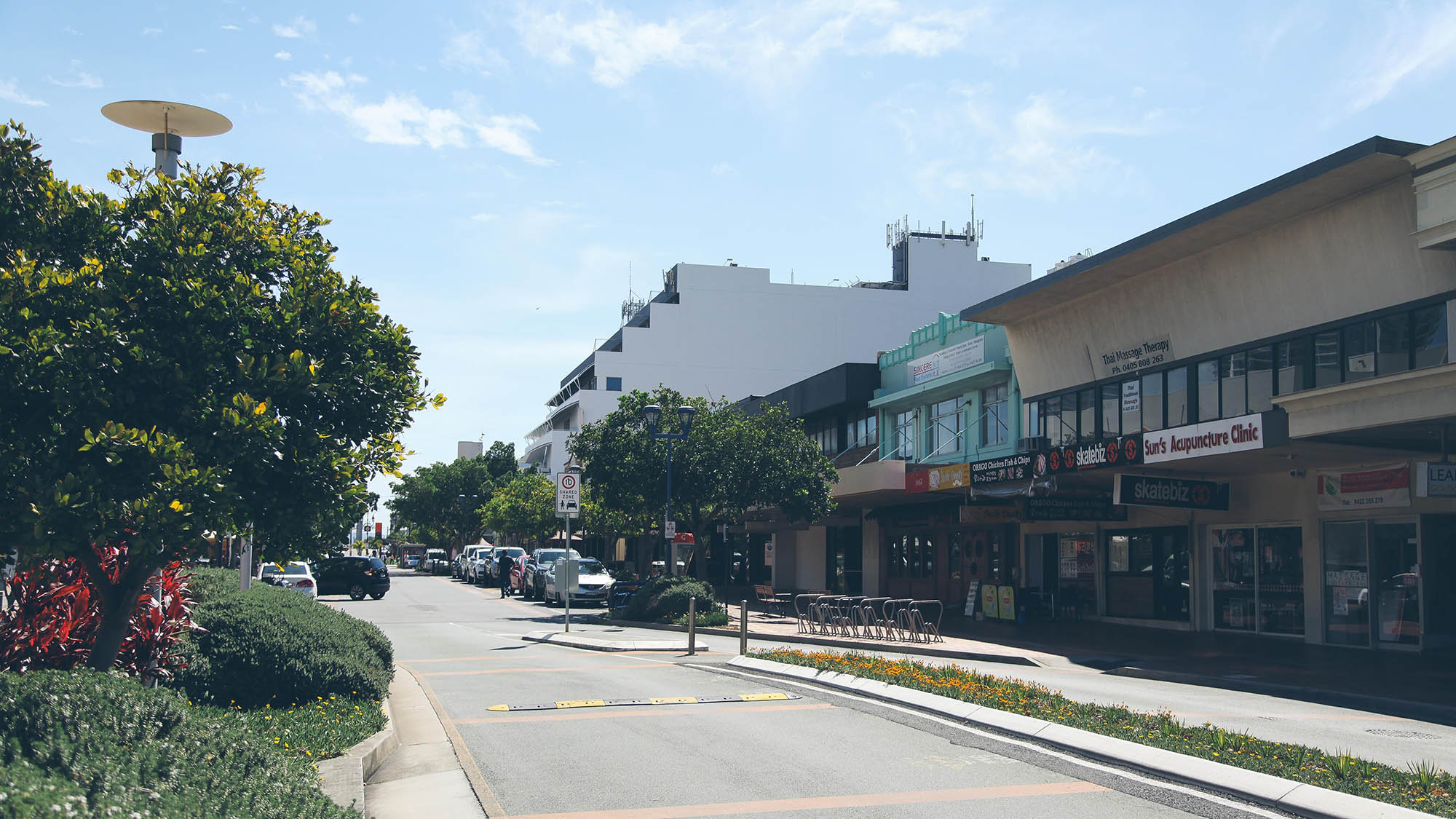 Adjacent to Australia Fair is the Southport mall, which is a great pedestrian throughfare from the parklands to the heart of the CBD.