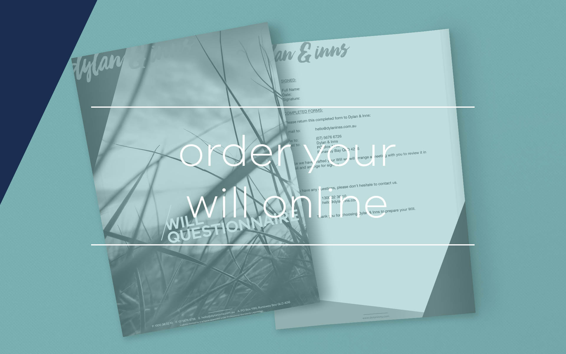 If you live on the Gold Coast, or in Brisbane and require the drafting of a Will, or the amendment of your current Will, our estate lawyers can assist and you can order this online.