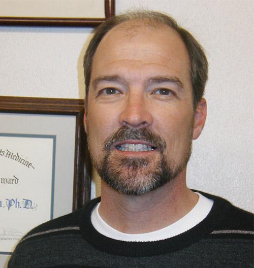 Past Secretary-Treasurer   of the Arizona Physiological Society    Erik Henriksen, PhD