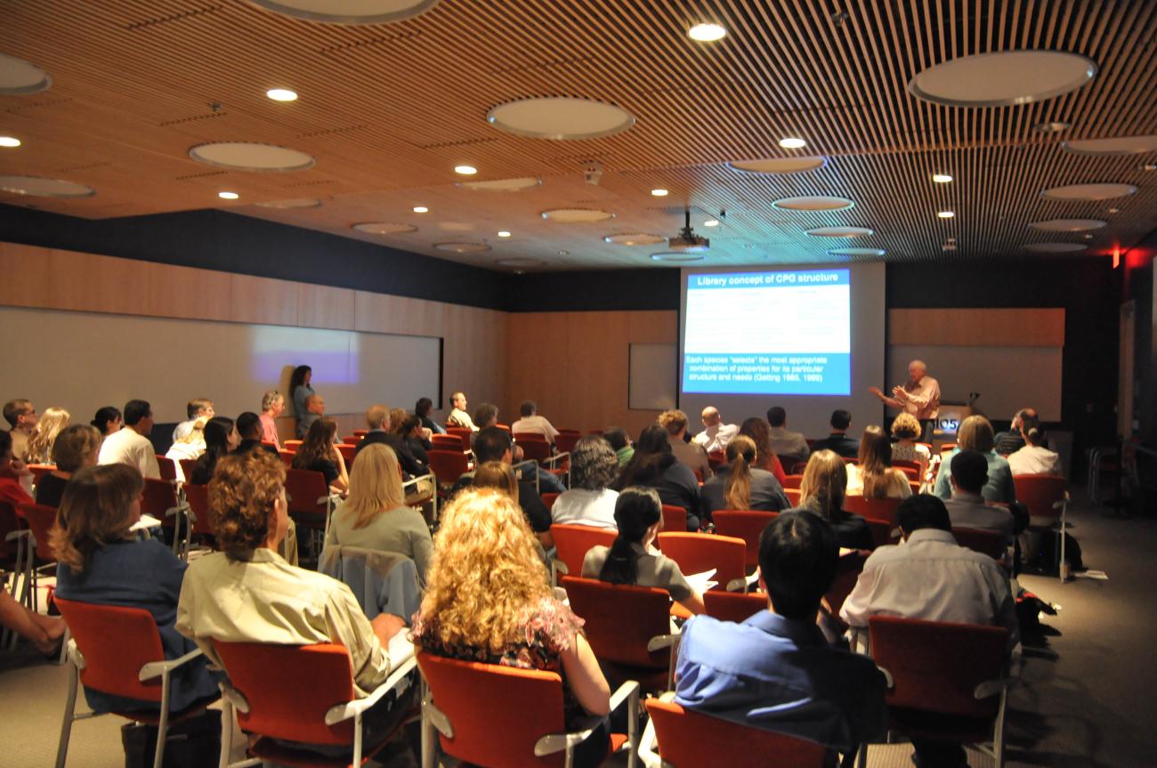 Douglas Stuart presenting the Arizona Distinguished Lecture