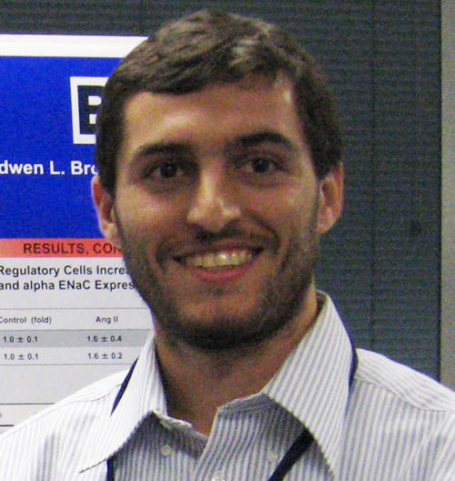 Past Graduate Student Councillor   of the Arizona Physiological Society    Dennis Pollow