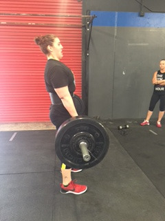 WEDNESDAY 13APRIL16  Warm up 800m group run  3RNFT 200m row 5 each SLRDL with weight 5 TNG tuck jump 8 PVC pass throughs 5 Planche push ups  conditioning  Teams of two 75 cals row 75 Deadlift @185/125 75 box jump over 24/20 75 wall balls 75 burpees 75 wall balls  75 box jump over 24/20 75 deadlift @185/1257 75 cal row  scales-  deadlift  L1: 165/115 L2: 155/105  L3: 135/95  L4: 115/85  box jumps or box step ups 24/20  mobility after if time permits