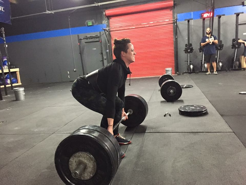 WEDNESDAY 06APRIL16  Warm up 5' Jump rope  Slow 7 min AMRAP 100m run 10 Goblet squats 10 Ab mat sit ups  Strength 25' 4x6 sumo deadlift with good from NO ROUNDED BACKS  3x8 barbell good mornings  Conditioning 12' AMRAP 10 front squat 155/105 200m med ball sprint