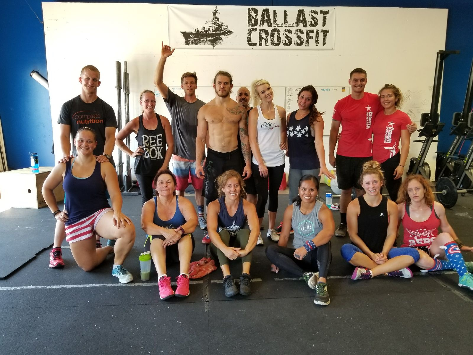 Happy 4th of July America. Great day of fitness with an even greater community. Thank you to everyone at Ballast for making CrossFit enjoyable.