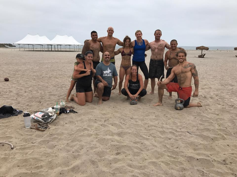 Beach workout was a success this past weekend. Look forward to the next one.