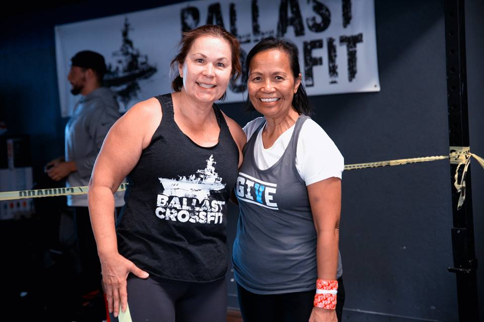 Gwen and Carmen at our Lift Up Autism event. Great job ladies.