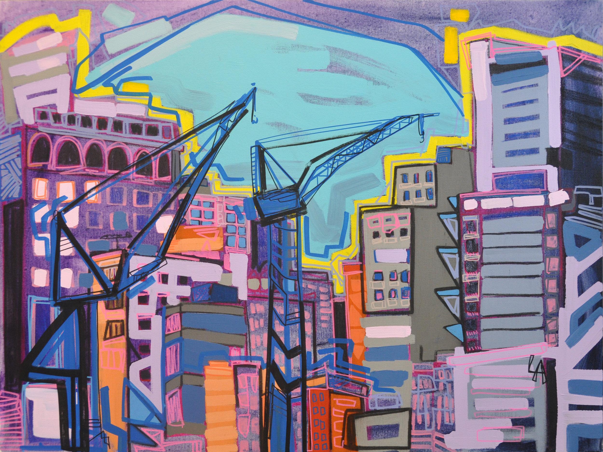 New York, Cranes