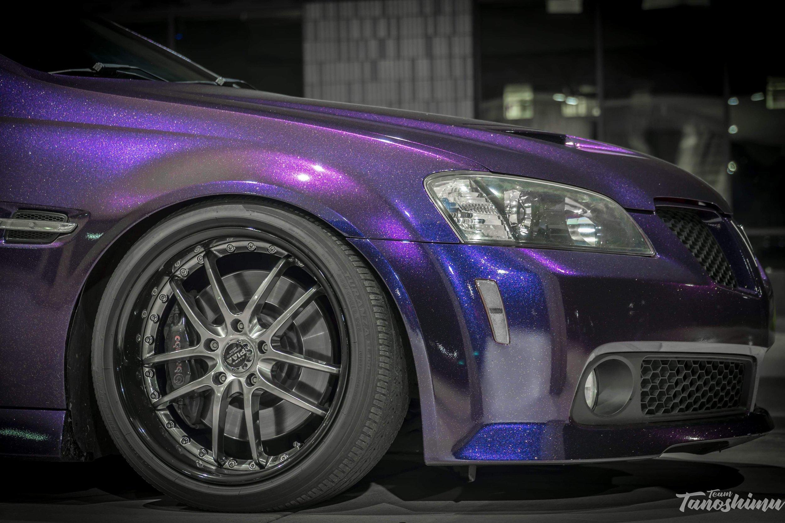 Purple Fusion X & Gold Flake AutoFlex Gloss
